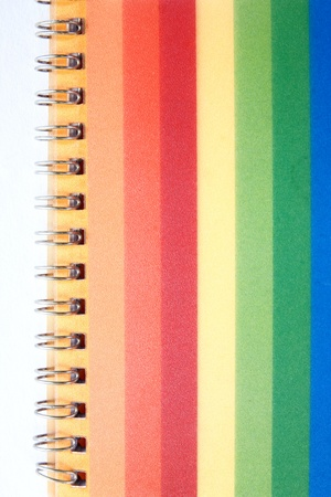 Colorful Notebook.