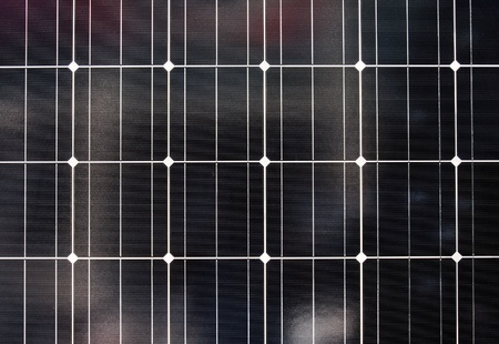 pattern of solar cell  photo