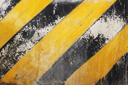 Black and Yellow Stripes Stock Photo - 11920212