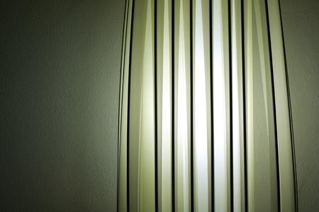 green modern lamp photo