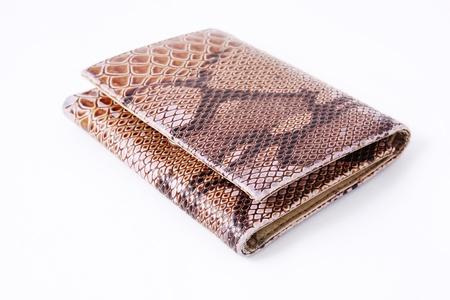 imitation leather: Imitazione borsa di cuoio di serpente