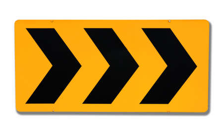 Attention road sign Stock Photo - 12834423