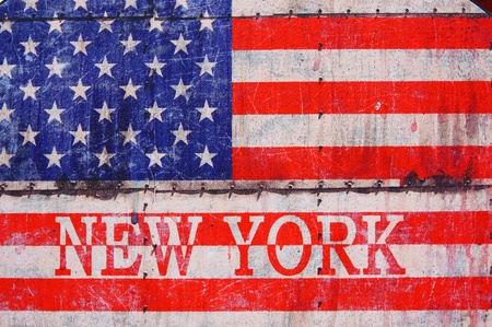 USA flag background,NEW YORK  photo