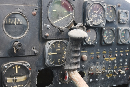 Close Up Of Inside Fighter Stock Photo - 13631626