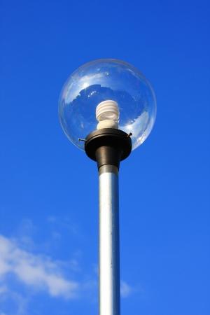 streetlamp and blue sky  Stock Photo - 13708695
