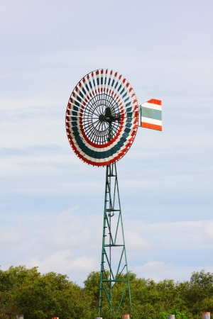 wind turbines in Thailand photo