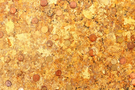 gold leaf texture Stock Photo - 14481751