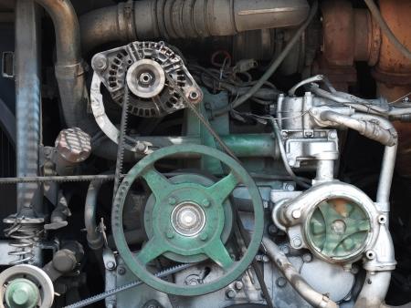 poleas: Bus del motor