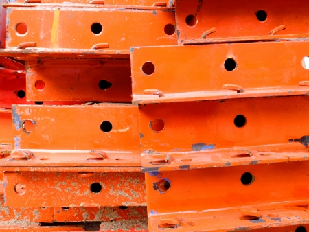 capping: steel for construct Stock Photo