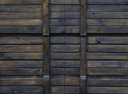 Texture of old wooden pallets photo