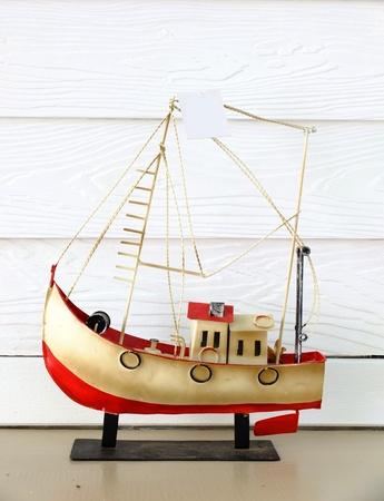toy sailing boat photo