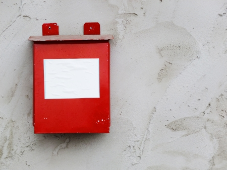 Post Box on wall Stock Photo - 18235949