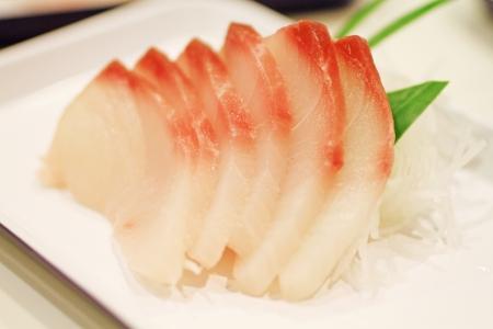 Sliced raw fish Stock Photo - 21830296