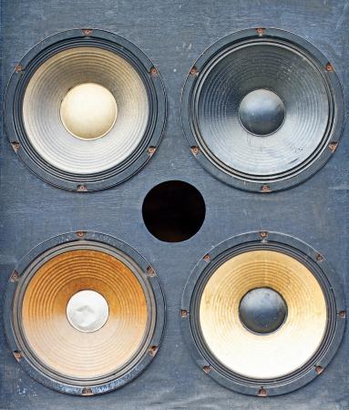 15 inch: bass amplifier speaker,old speaker