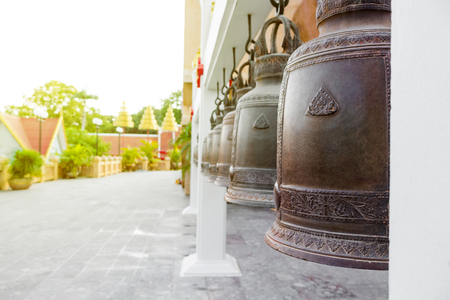 The bell is a Buddhist symbol in Thailand