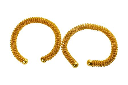 Gold bracelets are jewelry of Thai people and are unique. Of Thainess