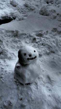 dark: Snowman in The Dark