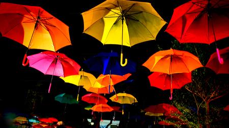 midnight: Umbrella� Midnight in The Sky