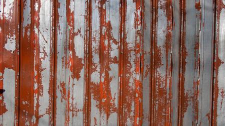 iron curtains: Old Orange Silver Steel Curtain