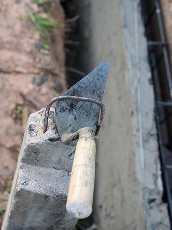 Gyan Put on a Cement Pole