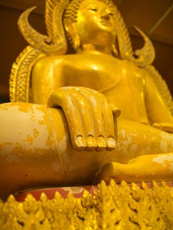 Hand of Buddha  Statue Sitting