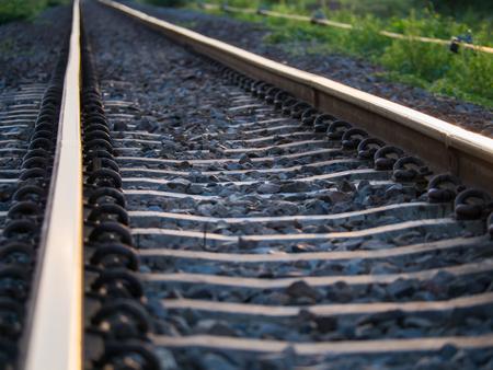 lurid: The Blur of Railway on The Way