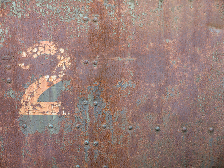 The Old Rusty Steel Door Number 2