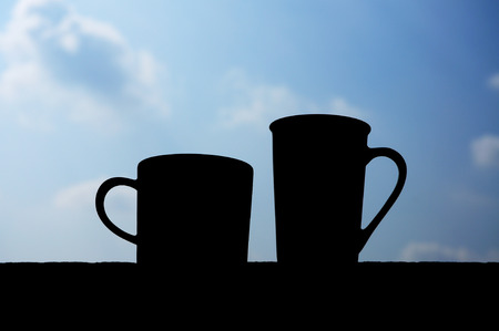 coffee cups: Coffee cups Stock Photo