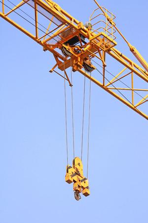hijsen: Hijstrolley Mechanisme van Tower Crane