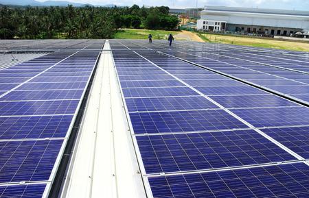대규모 옥상 태양 광 시스템