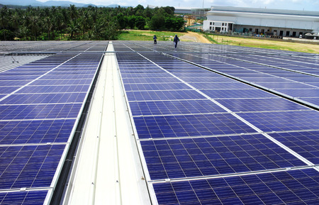 modules: Large Scale Rooftop Solar PV System