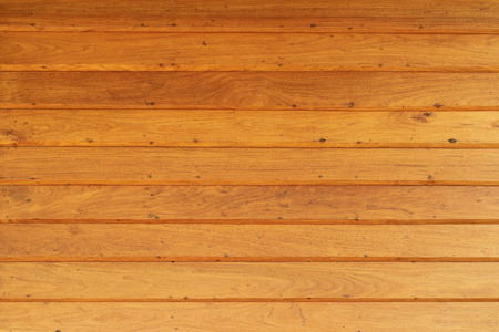 teak wood: Teak Wood Wall Stock Photo