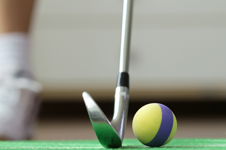 ball: Foam Golf Ball Home Practicing