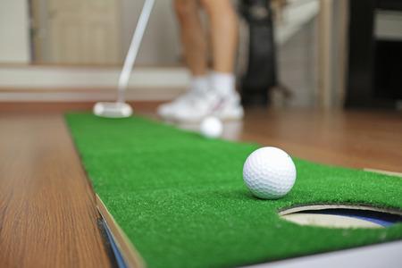 putt: Home Golf Putt Practicing