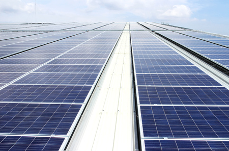 Large Scale Rooftop Solar PV System