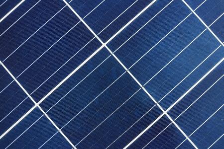 태양 전지판 배경과 질감
