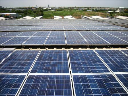 대규모 태양 광 태양 광 옥상 시스템
