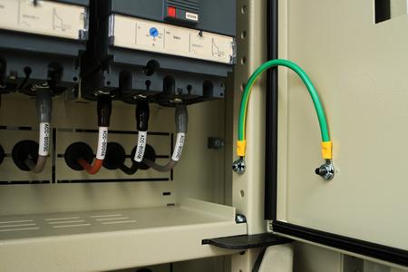Ground Bonding for Door of Electrical Panel