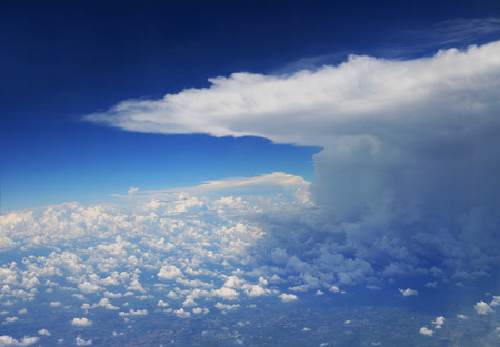 Storm Cloud viewed from Airplane 스톡 콘텐츠 - 111339000