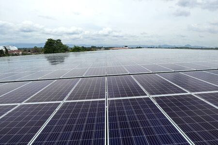 Large Scale Solar PV Rooftop System