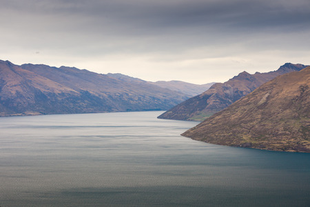 remarkable: The Remarkable range and lake Wakatipu, Queenstown, New Zealand