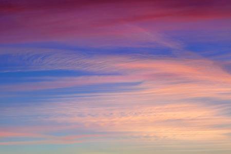 colorful cloudscape: Colorful twilight and cloudscape over the Zadar city Croatia