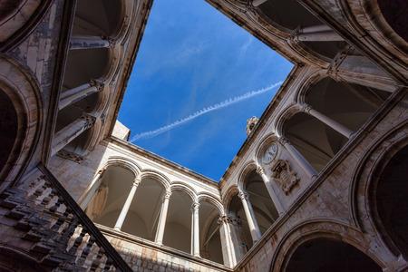 Villa interior in the Dubrovnik old town , Croatia photo