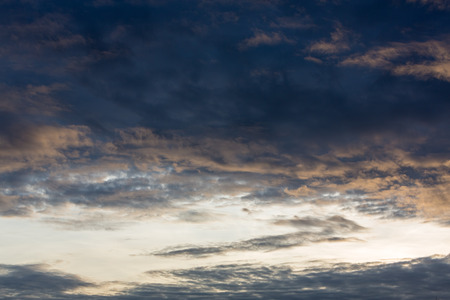 colorful cloudscape: Cloudscape background with Colorful morning sky before sunrise