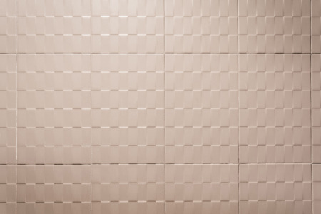 decorative wall: Background and texture of wall tiles in retro tone.