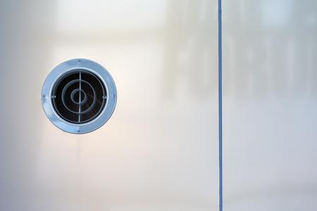 vent: Vent outlet  inside a modern office building.