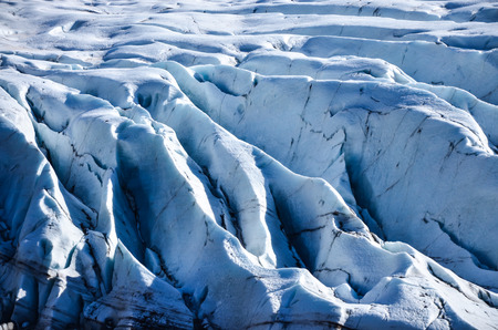 image created 21st century: Close Up Glacier In Iceland Stock Photo