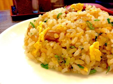 style: Chahan freid rice Japanese style Stock Photo