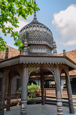 replicated: Mosque is a religious place of Muslims in the mosque is an Arabic word meaning place of worship in the Muslim community to build a mosque is a place to practice religious rites. Replicated in the ancient city Samut Prakan, Thailand