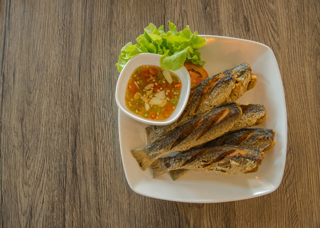 blackjack: Blackjack fried fish. The traditional food of Thailand.